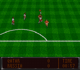 World Soccer 94 - Road to Glory screenshot