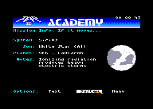 Academy screenshot