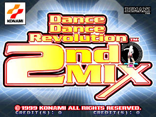 Dance Dance Revolution 2ndMix Link Version [Model GE885] screenshot