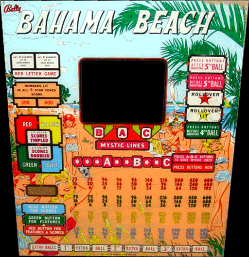 Bahama Beach [Model 781] screenshot