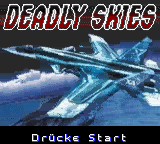 Deadly Skies [Model CGB-BDLP-EUR] screenshot