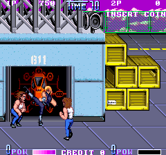 Double Dragon II - The Revenge [Model TA-0026] screenshot