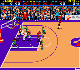 Double Dribble - The Ultimate Basketball Game [Model GX690] screenshot