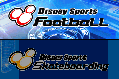 2 Disney Games: Disney Sports Football + Disney Sports Skateboarding screenshot
