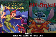 2 Disney Games: Disney's Peter Pan - Return to Neverland + Disney's Lilo & Stitch 2 screenshot