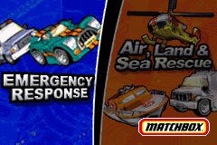 2 Game Pack! Matchbox Missions: Emergency Response + Air, Land & Sea Rescue [Model AGB-BB4P] screenshot