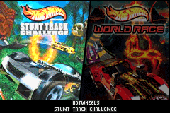 2 Game Pack! Hot Wheels - Stunt Track Challenge + Hot Wheels - World Race [Model AGB-BQJE-USA] screenshot