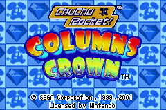 2 Games in 1: Columns Crown + ChuChu Rocket! [Model AGB-BW9P-EUR] screenshot