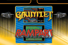 2 Games in One! Gauntlet + Rampart [Model AGB-B69P] screenshot