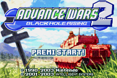 Advance Wars 2 - Black Hole Rising [Model AGB-AWZP] screenshot