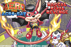 Aero the Acro-Bat - Rascal Rival Revenge [Model AGB-AAOP] screenshot
