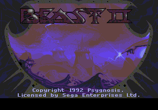 Shadow of the Beast II screenshot