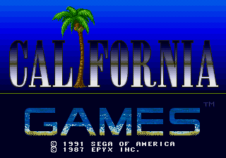 California Games [Model 1207] screenshot