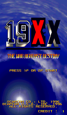 19XX - The War Against Destiny [Blue Board] screenshot