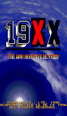 19XX - The War Against Destiny [Orange Board] screenshot