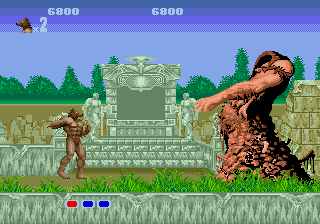 Altered Beast [Model 1100-50] screenshot