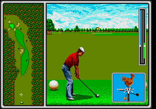 Arnold Palmer Tournament Golf [Model 1203-50] screenshot