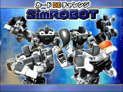 Card Challenge DE SimROBOT screenshot