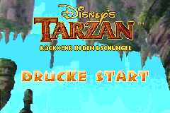 Disney's Tarzan - Rückkehr in den Dschungel screenshot
