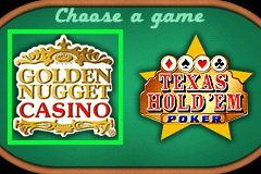 Double Game! Golden Nugget Casino + Texas Hold 'em Poker [Model AGB-BWCP] screenshot
