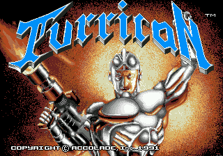 Turrican screenshot