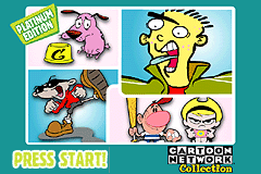 Game Boy Advance Video - Cartoon Network Collection - Platinum Edition [Model AGB-MCNE-USA] screenshot