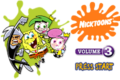 Game Boy Advance Video - Nicktoons - Volume 3 [Model AGB-MN3E-USA] screenshot