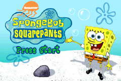 Game Boy Advance Video - SpongeBob SquarePants - Volume 1 [Model AGB-MSSE-USA] screenshot