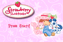 Game Boy Advance Video - Strawberry Shortcake - Volume 1 [Model AGB-MSBE-USA] screenshot