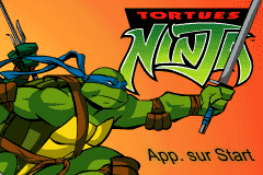 Game Boy Advance Video - Teenage Mutant Ninja Turtles - Le Demenagement screenshot