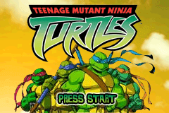 Game Boy Advance Video - Teenage Mutant Ninja Turtles - Things Change [Model AGB-MTME-USA] screenshot