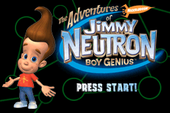 Game Boy Advance Video - The Adventures of Jimmy Neutron Boy Genius - Volume 1 [Model AGB-MJME-USA] screenshot