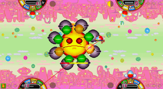 Medal de Fantasy Zone screenshot