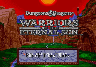 Warriors of the Eternal Sun screenshot