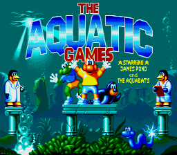 Aquatic Games [Model E077SMX1] screenshot