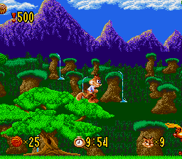 Bubsy in Claws Encounters of the Furred Kind screenshot