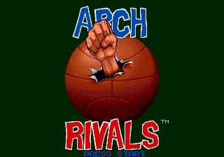 Arch Rivals - The Arcade Game [Model T-81056-50] screenshot
