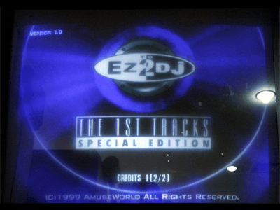 Ez2DJ The 1st Tracks Special Edition screenshot