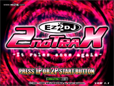 Ez2DJ 2nd TraX: It Rules Once Again screenshot