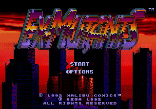 Ex-Mutants screenshot