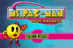 Ms. Pac-Man - Maze Madness [Model AGB-BPCE-USA] screenshot