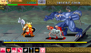 Dungeons & Dragons - Shadow Over Mystara [Green Board] screenshot