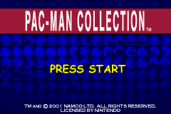 Pac-Man Collection [Model AGB-APCE-USA] screenshot