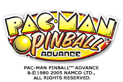 Pac-Man Pinball Advance [Model AGB-BP8E-USA] screenshot