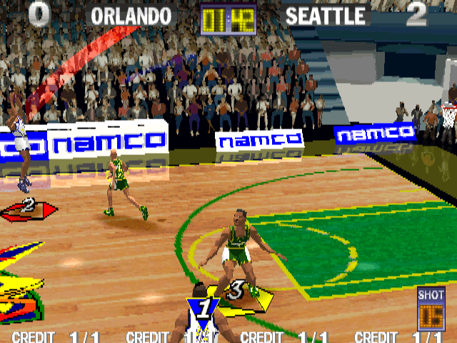 Dunk Mania screenshot