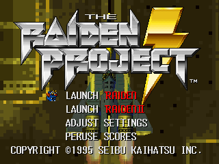 The Raiden Project [Model SLPS-00013] screenshot