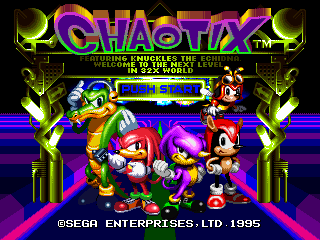 Chaotix [Model 84503-50] screenshot
