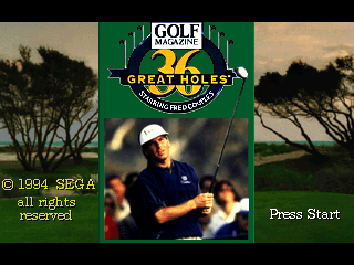36 Great Holes Starring Fred Couples [Model 84602-50] screenshot