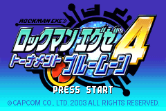 Rockman EXE 4 - Tournament Blue Moon [Model AGB-B4BJ-JPN] screenshot