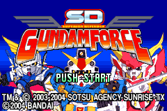SD Gundam Force [Model AGB-BGEE-USA] screenshot